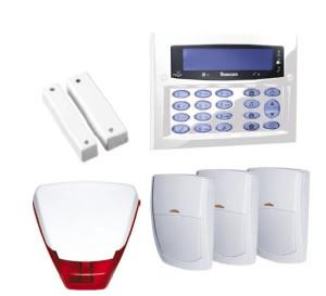 wired intruder and secutiry alarm